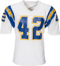 Football Collectibles:Uniforms, 1982 Ricky Bell Game Worn San Diego Chargers Jersey....