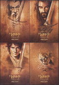 """Movie Posters:Fantasy, The Hobbit: An Unexpected Journey & Others Lot (New Line,2012). IMAX Exclusive Mini Poster Set of 4 (13.5"""" X 19.5"""") SS.Fan... (Total: 4 Items)"""