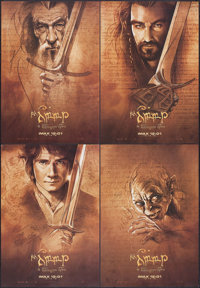 """The Hobbit: An Unexpected Journey & Others Lot (New Line, 2012). IMAX Exclusive Mini Poster Set of 4 (13.5"""" X 1..."""