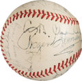 Baseball Collectibles:Others, 1940's Boston Red Sox Old Timers Day Multi-Signed Baseball withCollins, Yawkey.. ...