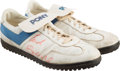 """Football Collectibles:Others, 1984 Earl Campbell Game Worn, Signed Houston Oilers Turf Shoes - Sourced from """"Luv Ya Blue"""" Lady...."""