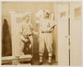 "Baseball Collectibles:Photos, 1910's Frank ""Home Run"" Baker & Stuffy McInnis OriginalPhotograph, PSA/DNA Type 1.. ..."