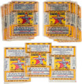 """Baseball Cards:Unopened Packs/Display Boxes, 1934-36 R327 National Chicle """"Diamond Stars"""" Wrappers (33). ..."""