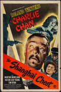 """Movie Posters:Mystery, The Shanghai Chest (Monogram, 1948). One Sheet (27"""" X 41"""").Mystery.. ..."""