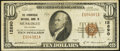 National Bank Notes:Oklahoma, Muskogee, OK - $10 1929 Ty. 1 The Commercial NB Ch. # 12890. ...