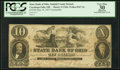 Obsoletes By State:Ohio, Cuyahoga Falls, OH - State Bank of Ohio, Summit County BranchCounterfeit $10 June 18, 1857 Wolka 0947-34. ...