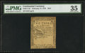 Colonial Notes:Continental Congress Issues, Continental Currency February 17, 1776 $2/3 PMG Choice Very Fine35.. ...