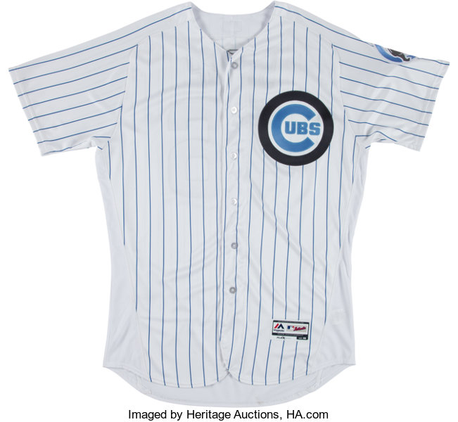huge selection of 449f5 08a69 2016 Pedro Strop Game Worn Chicago Cubs Father's Day Jersey ...
