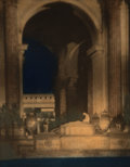 Photographs:Gelatin Silver, Francis Joseph Bruguière (American, 1879-1945). Altar before rotunda, palace of the Fine Arts, Panama Pacific Internationa...