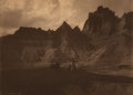 Photographs:Platinum, Edward Sheriff Curtis (American, 1868-1952). In theBadlands, 1905. Platinum. 5-5/8 x 7-7/8 inches (14.3 x 20 cm).Signe...