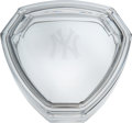 Baseball Collectibles:Others, 2000's Yogi Berra Tiffany & Co. Dish Gifted by the New York Yankees. ...
