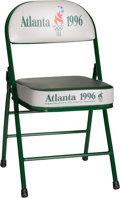 Miscellaneous Collectibles:General, 1996 Atlanta Summer Olympics Participants Seat....