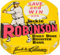 Baseball Collectibles:Others, 1950's Jackie Robinson Daily Dime Register Bank....