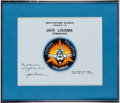 Explorers:Space Exploration, Space Shuttle Columbia (STS-3) Flown Patch Worn by MissionCommander Jack Lousma, Originally from his Personal Col...