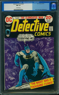 Detective Comics #436 (DC, 1973) CGC NM 9.4 Off-white pages