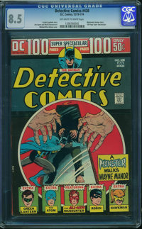 Detective Comics #438 (DC, 1974) CGC VF+ 8.5 Off-white to white pages