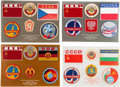Explorers:Space Exploration, Soviet and Russian International Space Mission Patch Collection (172 Pieces, 1978-1997), Likely the Finest of Its Kind, All in...
