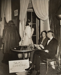 Weegee (American, 1899-1968) Taxi Dancing at $0.50 at the Stately Waldorf, 1940s Gelatin sillver