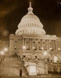 Photographs, Weegee (American, 1899-1968). United States Capitol Building, 1940s. Gelatin silver. 13-1/2 x 10-3/4 inches (34.3 x 27.2...