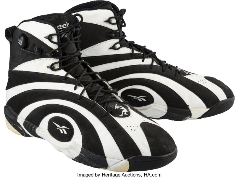 great discount for great deals on fashion fast delivery 1995 Shaquille O'Neal Game Worn Shaqnosis Sneakers ...