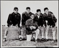Football Collectibles:Photos, 1960 Vince Lombardi and Green Bay Packers Coaching Staff OriginalPhotograph. ...