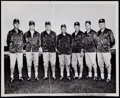 Football Collectibles:Photos, 1962 Vince Lombardi and Green Bay Packers Coaching Staff Original Photograph. ...