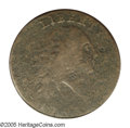 Large Cents: , 1793 Chain 1C AMERI. Good 6 PCGS. S-1, R.4. Despite a considerableamount of planchet roughness on the obverse, both the po...