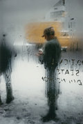 Photographs:Gelatin Silver, Saul Leiter (American, 1923-2013). Snow, 1960. Dye coupler,2006. 13-1/2 x 9 inches (34.3 x 22.9 cm). Signed in ink on v...