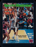 Basketball Collectibles:Publications, 1984 Sports Illustrated Michael Jordan USA Olympic Basketball Cover. ...