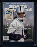 Football Collectibles:Publications, 2005 Sports Illustrated Randy Moss - Raider Appearance! ...
