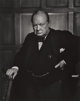Yousuf Karsh (Canadian, 1908-2002) Winston Churchill, 1941 Gelatin silver, printed later 19-3/4 x 15-3/4 inches (50.2
