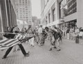 Photographs:Gelatin Silver, Stanley Forman (American, b. 1945). The Soiling of Old Glory,Boston, April 5, 1976. Gelatin silver, printed later. 14-1...