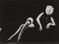 Photographs, Milton Greene (American, 1922-1985). Marilyn Monroe, from The Black Sitting, 1956. Gelatin silver, 1978. 16 x 20 inc...