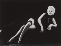 Milton Greene (American, 1922-1985) Marilyn Monroe, from The Black Sitting, 1956 Gelatin