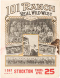 Entertainment Collectibles:Circus, 101 Ranch Wild West Show Program....