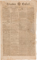 Miscellaneous:Newspaper, John Adams & Thomas Jefferson: Counting Votes in the 1800Election and Ballots for Jefferson.... (Total: 4 Items)