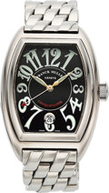 Timepieces:Wristwatch, Franck Muller Conquistador 18K White Gold Wristwatch Ref. MEN SC, No. 81. ...