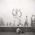 Photographs:Gelatin Silver, Don Jim (Chinese/American,1922-2006). Muscle Beach, Santa Monica (three photographs), mid-1950s. Gelatin silver. two of ... (Total: 3 Items)