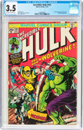 Bronze Age (1970-1979):Superhero, The Incredible Hulk #181 (Marvel, 1974) CGC VG- 3.5 Off-white towhite pages....