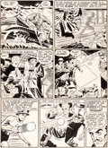 Original Comic Art:Panel Pages, Carmine Infantino Flash Comics #112 Unpublished Story Page 3Thinker Original Art (DC, 1949)....