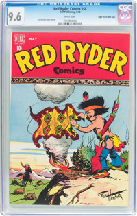 Red Ryder Comics #58 Mile High Pedigree (Dell, 1948) CGC NM+ 9.6 White pages