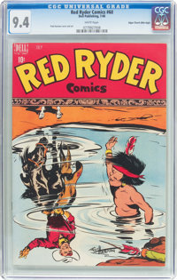 Red Ryder Comics #60 Mile High Pedigree (Dell, 1948) CGC NM 9.4 White pages