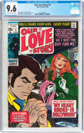 Bronze Age (1970-1979):Romance, Our Love Story #5 (Marvel, 1970) CGC NM+ 9.6 Off-white to white pages....