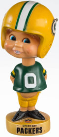 Football Collectibles:Others, 1970's Green Bay Packers Nodder. ...