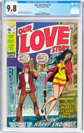 Bronze Age (1970-1979):Romance, Our Love Story #7 (Marvel, 1970) CGC NM/MT 9.8 White pages....