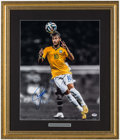 Olympic Collectibles:Autographs, Soccer Superstar Neymar Signed Oversized Photo. ...