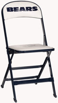 Football Collectibles:Others, Chicago Bears Folding Chair. ...