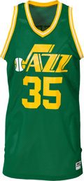 Basketball Collectibles:Uniforms, Early 1980's Darrell Griffith Game Worn Utah Jazz Jersey. ...