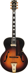Musical Instruments:Electric Guitars, 1941 Gibson L5 Sunburst Acoustic Archtop Electric Guitar....