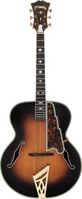Musical Instruments:Acoustic Guitars, Circa 1937 John D'Angelico Sunburst Archtop Acoustic Guitar, Serial #1296....